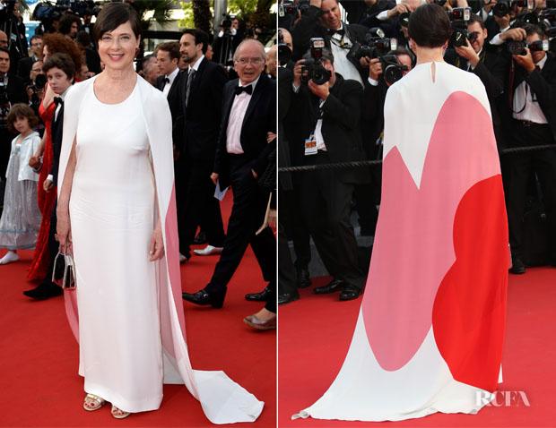 Isabella Rossellini In Stella McCartney -  'La Tete Haute' Cannes Film Festival Premiere & Opening Ceremony