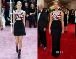 Jennifer Lawrence In Christian Dior Couture - 2015 Met Gala