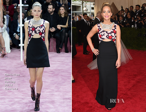 Jennifer Lawrence In Christian Dior Couture - 2015 Met Gala_2