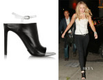 Jennifer Lawrence's Balenciaga Leather Mules