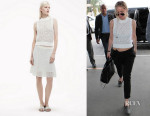Jennifer Lawrence's Theory 'Mayleen' Sweater