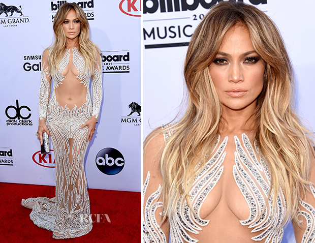 Jennifer Lopez In Charbel Zoe - 2015 Billboard Music Awards_2