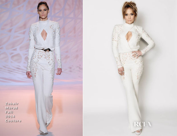 Jennifer Lopez In Zuhair Murad Couture - 'American Idol XIV' Top 2 Revealed Show