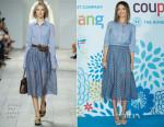 Jessica Alba In Michael Kors -  'Coupang' Press Conference