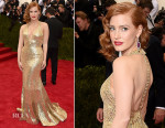 Jessica Chastain In Givenchy - 2015 Met Gala