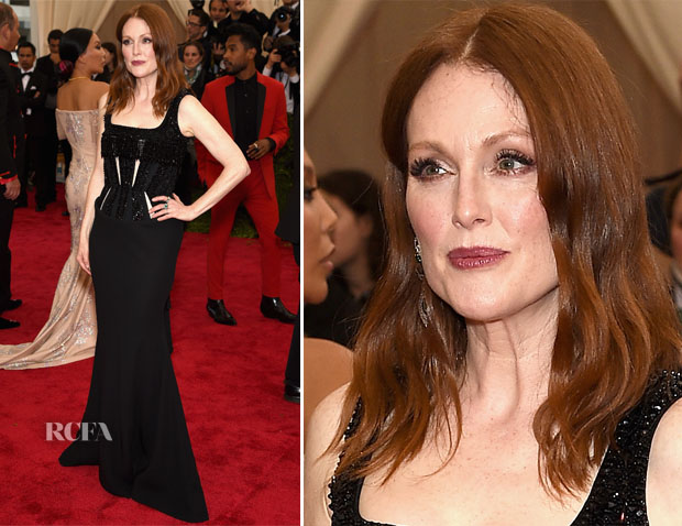 Julianne Moore In Givenchy Couture - 2015 Met Gala