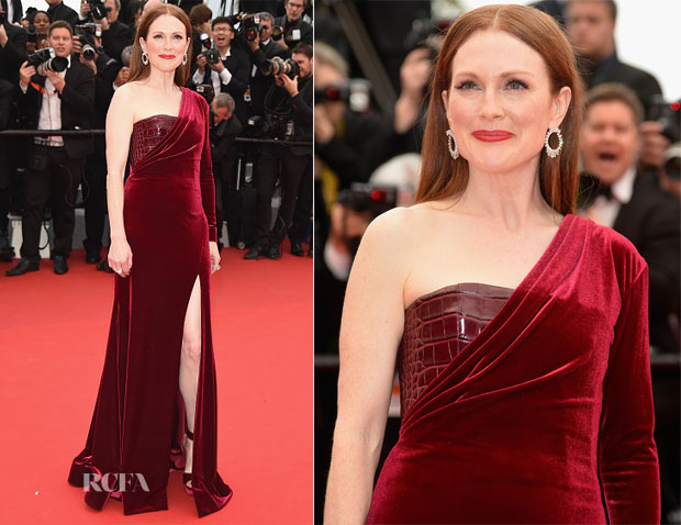 Julianne Moore In Givenchy Couture - 'Mad Max Fury Road' Cannes Film Festival Premiere