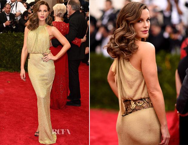Kate Beckinsale In Diane von Furstenberg - 2015 Met Gala