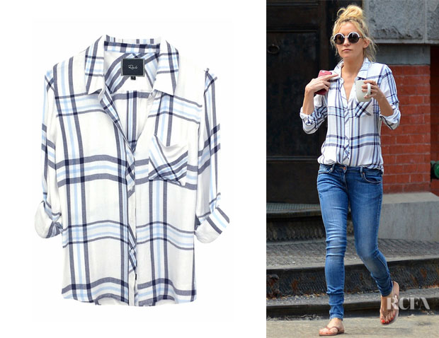 Kate Hudson's Rails 'Hunter' Plaid Shirt