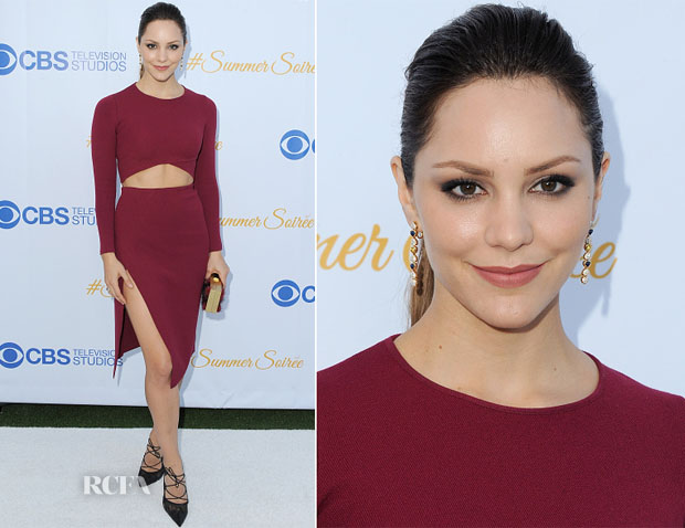 Katharine McPhee In RVN - CBS Television Studios 3rd Annual Summer Soiree Party