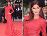 Katrina Kaif In Elie Saab -  'Mad Max: Fury Road' Cannes Film Festival Premiere