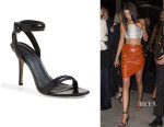Kendall Jenner's Alexander Wang 'Antonia' Ankle Strap Sandals