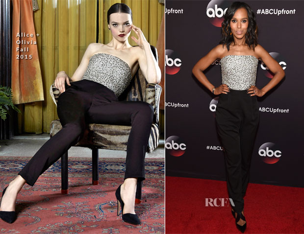 Kerry Washington In Alice + Olivia - 2015 ABC Upfront