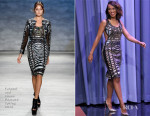 Kerry Washington In Falguni and Shane Peacock - The Tonight Show Starring Jimmy Fallon