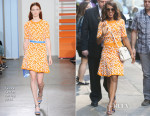 Kerry Washington In Tanya Taylor - 'Good Morning America'