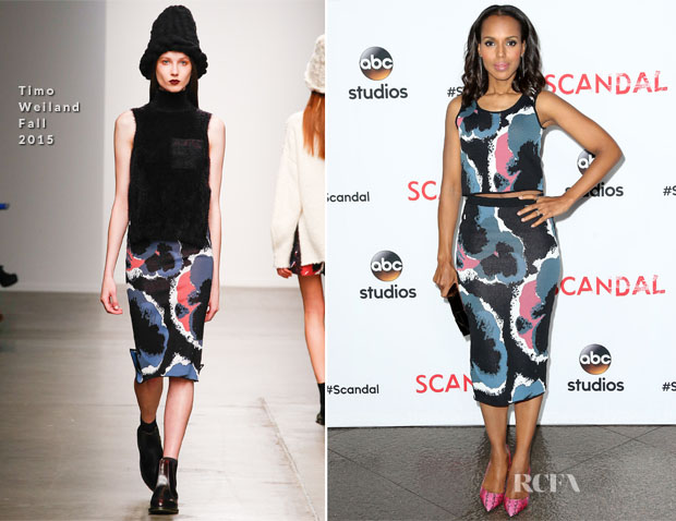 Kerry Washington In Timo Weiland - 'Scandal' ATAS Event