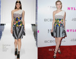 Kiernan Shipka In Christian Dior - NYLON Magazine And BCBGeneration Annual May Young Hollywood Issue Party