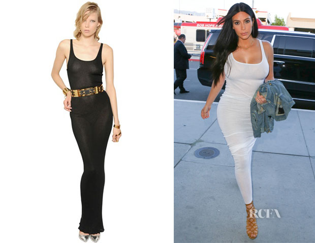 Kim Kardashian's Faith Connexion Cotton Rib Knit Dress