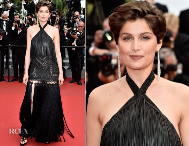 Laetitia Casta In Givenchy Couture -  'Macbeth' Cannes Film Festival Premiere