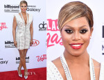 Laverne Cox In Marc Bouwer - 2015 Billboard Music Awards