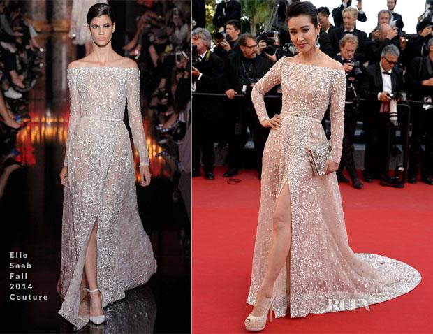 Li Bingbing In Elie Saab Couture -  'Carol' Cannes Film Festival Premiere