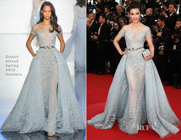 Li Bingbing In Zuhair Murad Couture - 'The Sea Of Trees' Cannes Film Festival Premiere