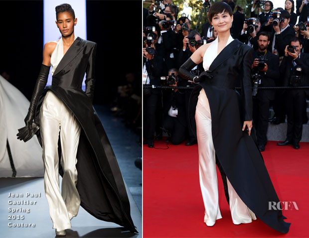 Li Yuchun In Jean Paul Gaultier Couture - 'The Little Prince' Cannes Film Festival Premiere