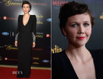 Maggie Gyllenhaal In Alexander McQueen - 40th Anniversary Gracies Awards