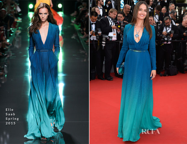 Marie Gillain In Elie Saab -  'La Tete Haute' Cannes Film Festival Premiere & Opening Ceremony