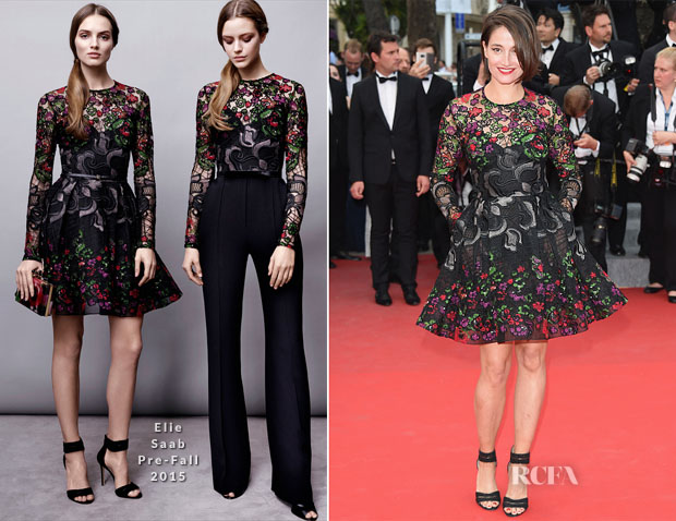 Marie Gillain In Elie Saab - 'Irrational Man' Cannes Film Festival Premiere