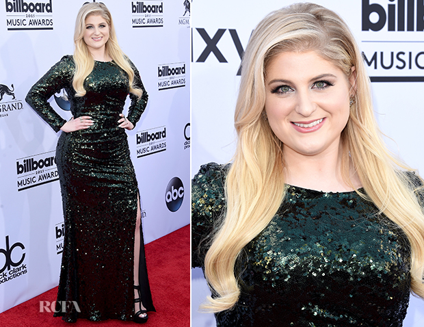 Meghan Trainor In Badgley Mischka - 2015 Billboard Music Awards