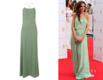 Michelle Keegan's Label Lab Beaded Back Strappy Maxi Dress