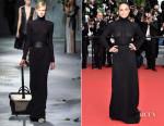 Michelle Rodriguez In Vionnet - 'La Glace Et Le Ciel' Cannes Film Festival Premiere & Closing Ceremony