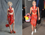 Miley Cyrus In Moschino - 1 Oak Night Club