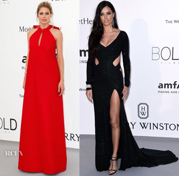 Models @ 2015 amfAR Cinema Against AIDS Gala 2