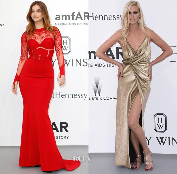 Models @ 2015 amfAR Cinema Against AIDS Gala 7