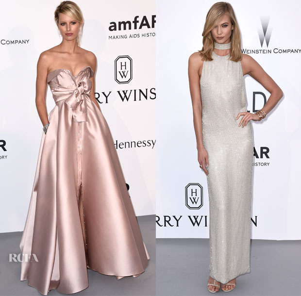 Models @ 2015 amfAR Cinema Against AIDS Gala