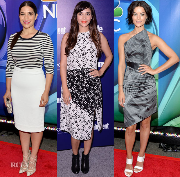 NBC Upfronts & FOX Programming Presentation Red Carpet Roundup2