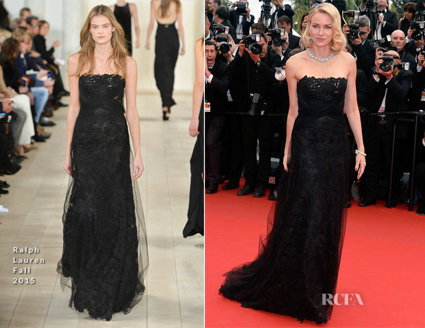 Naomi Watts In Ralph Lauren -  'Mad Max Fury Road' Cannes Film Festival Premiere2
