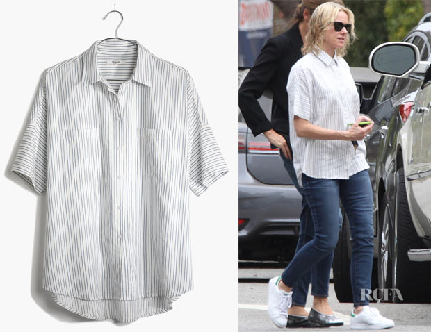 Naomi Watts' Madewell 'Courier' shirt