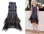 Naomi Watts' Peter Pilotto Embroidered Dress