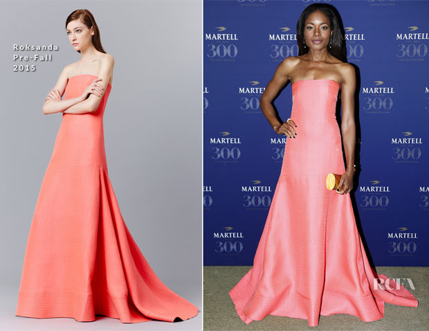 Naomie Harris In Roksanda - Martell Cognac Celebrates Its 300th Anniversary
