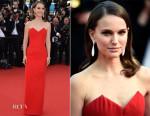 Natalie Portman In Christian Dior Couture -  'La Tete Haute' Cannes Film Festival Premiere & Opening Ceremony