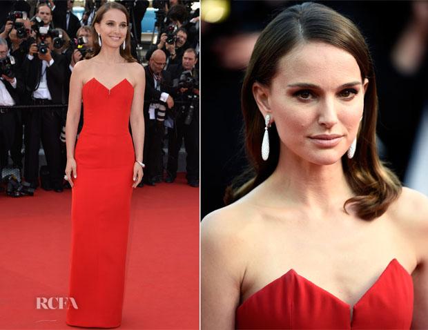 Natalie Portman In Christian Dior -  'La Tete Haute' Cannes Film Festival Premiere & Opening Ceremon
