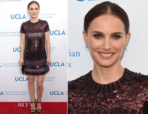 Natalie Portman In Christian Dior - UCLA Younes & Soraya Nazarian Center For Israel Studies 5th Annual Gala