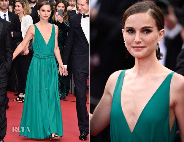 Natalie Portman In Lanvin - 'Sicario' Cannes Film Festival Premiere