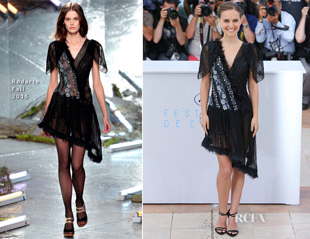 Natalie Portman In Rodarte – 'A Tale Of Love And Darkness' Cannes Film Festival Photocall