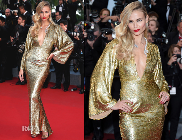Natasha Poly In Michael Kors - 'The Sea Of Trees' Cannes Film Festival Premiere