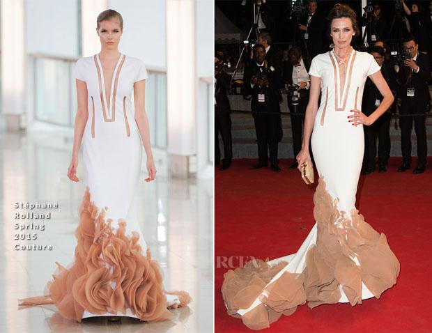 Nieves Alvarez In Stéphane Rolland Couture - 'Shan He Gu Ren' Cannes Film Festival Premiere
