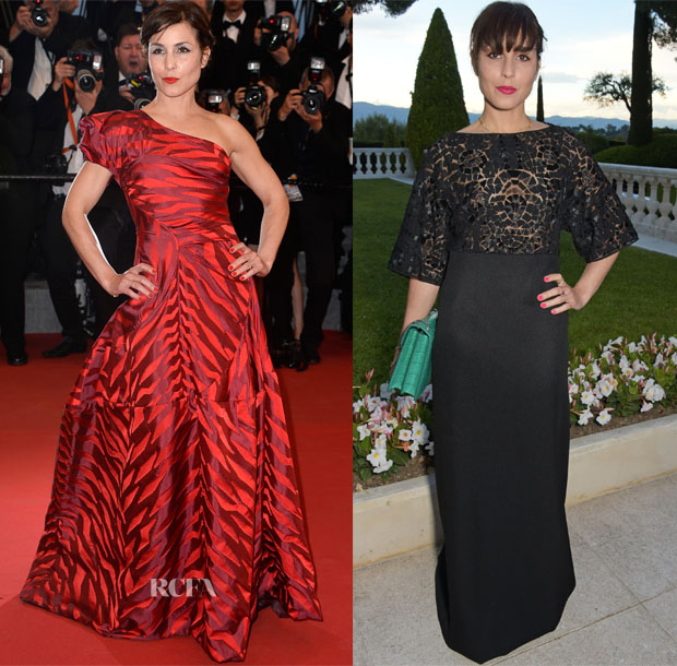 Noomi Rapace In Vivenne Westwood & Vionnet - 'The Sea of Trees' Cannes Film Festival Premiere &  amfAR Cinema Against AIDS Gala